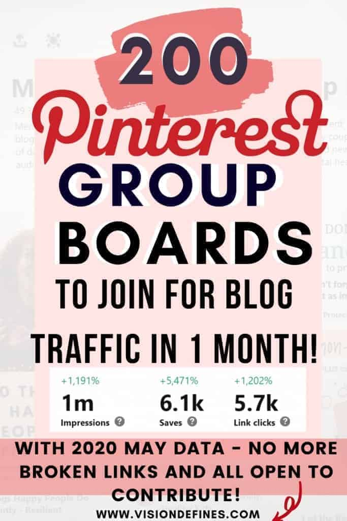 How to find Pinterest group boards for blog traffic