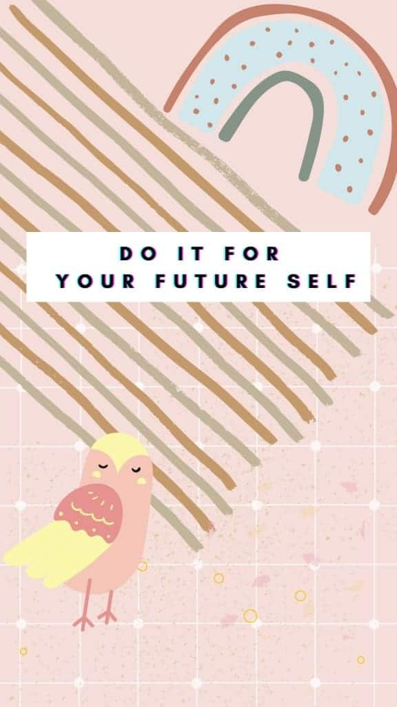 Motivational Quote girl power Phone Wallpaper