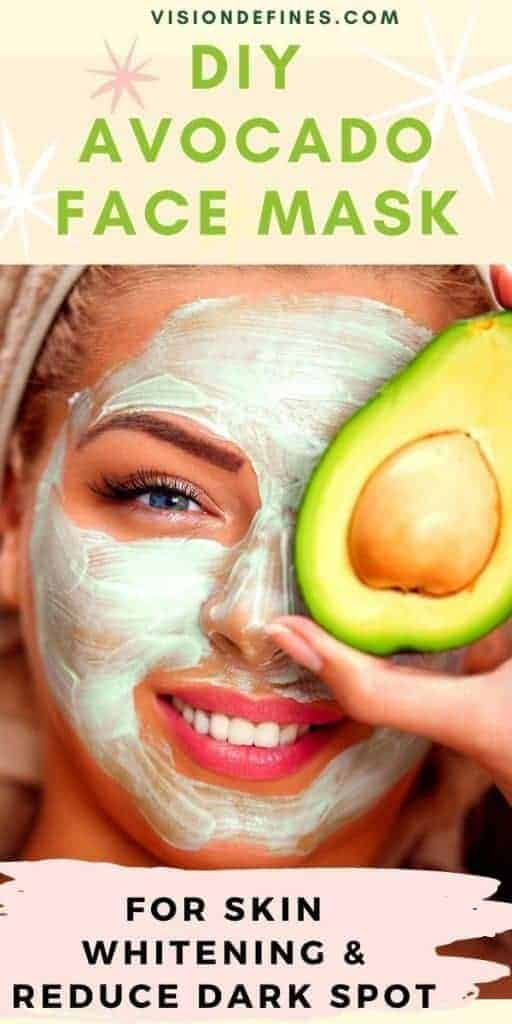 DIY EASY Avocado FACE MASK FOR ULTIMATE SKINCARE!