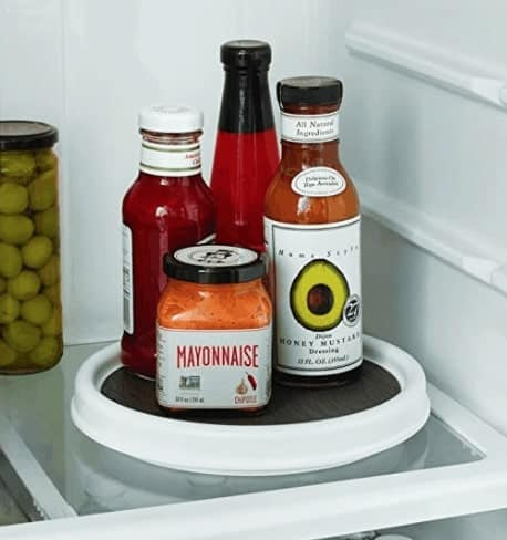 Non-Skid Pantry Cabinet Lazy Susan Turntable