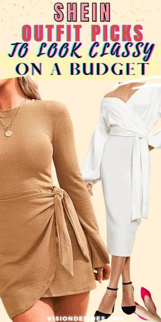SHEIN outfit picks to look classy on a budget