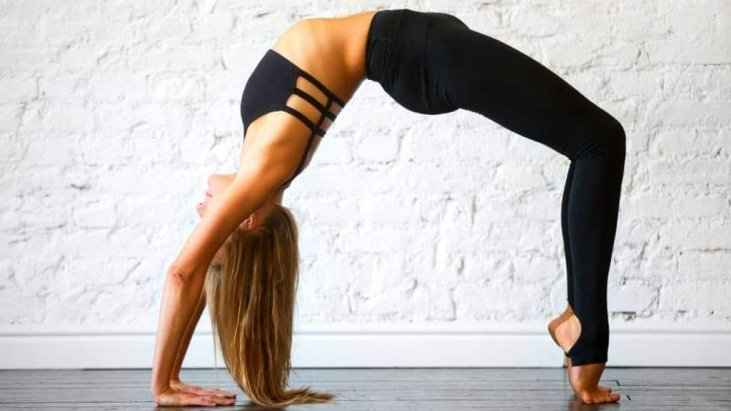 Do bridge pose for 1 minute every day to keep your face uplift