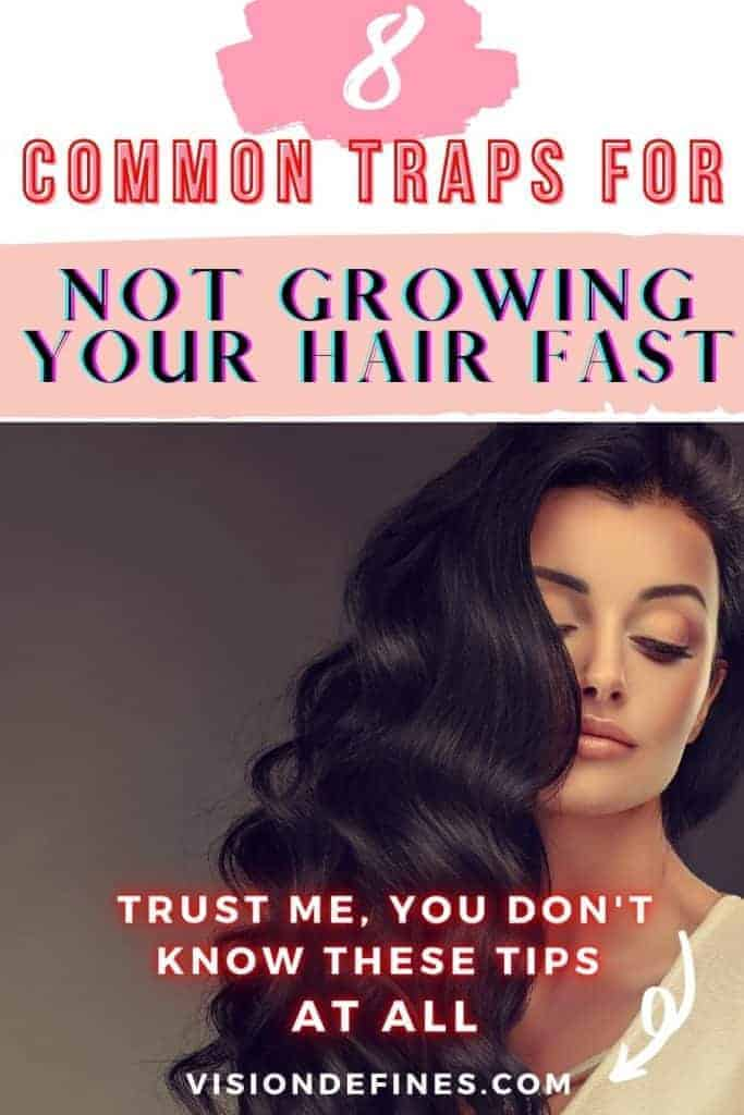 common traps for not growing you hair fast