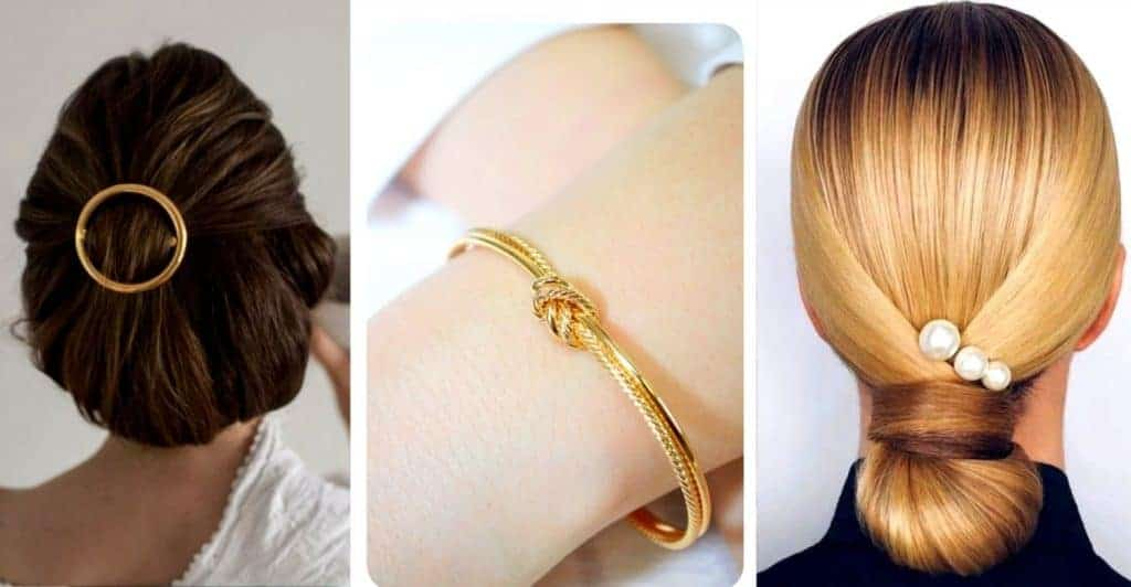 Wear simple delicate accessories to look classy