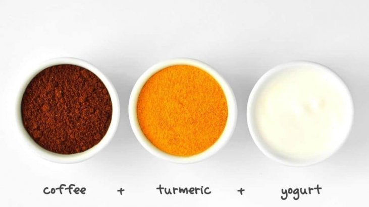 Lighten inner thighs and buttocks with turmeric